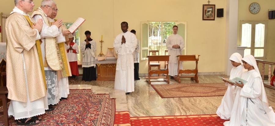 Inde : grande fête chez les Sœurs Consolatrices du Sacré-Cœur