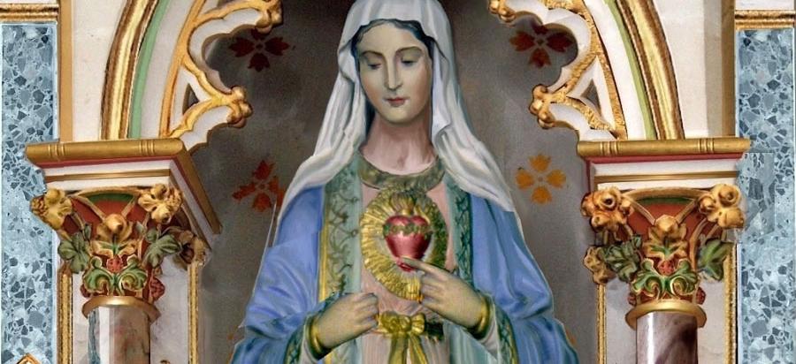Sainte fête du Cœur Immaculé de Marie !