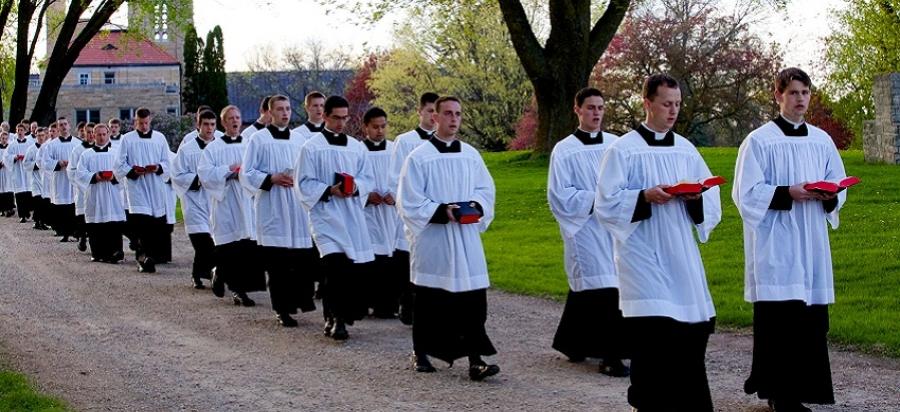 Formación sacerdotal en un seminario de la FSSPX