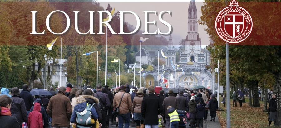 Lourdes-Wallfahrt des Priesterseminars Sankt Thomas v. Aquin (USA)