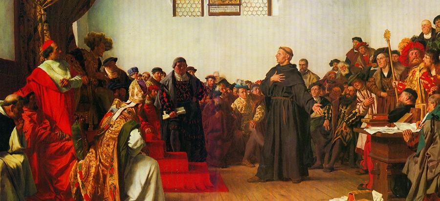 Martin Luther – ein Reformator? Die Rechtfertigung des Sünders: sola fide...
