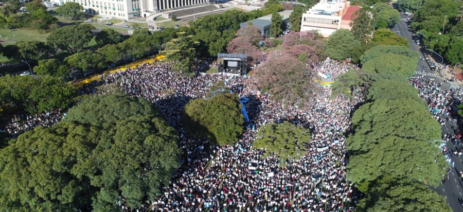 Millions Mark Historic Success of the March for Life in Argentina