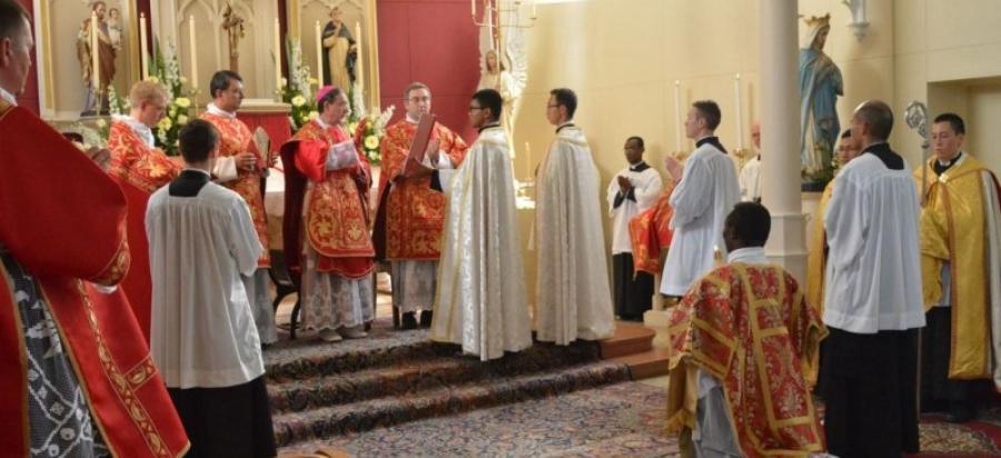 Ordinations at the Holy Cross Seminary in Australia