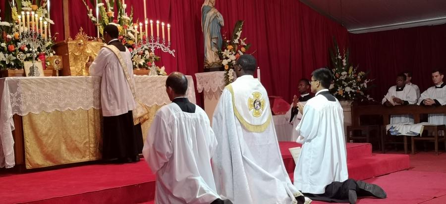 Moisson de grâces australes en la fête de sainte Lucie