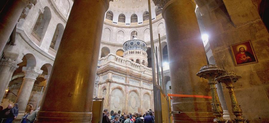 La arqueología refuerza la validez del sitio tradicional de la tumba de Cristo