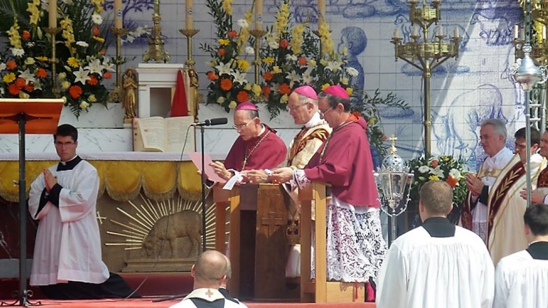 El 20 de agosto del 2017, los tres obispos de la FSSPX consagraron Rusia al Corazón Inmaculado de María.