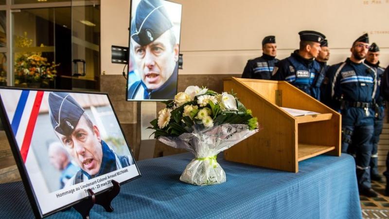 La France rend hommage au colonel Arnaud Beltrame