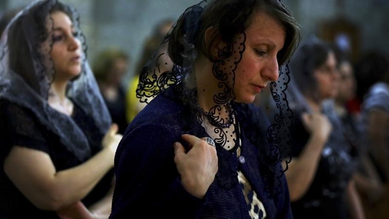 messe dans la cité-martyre Messe_iraq