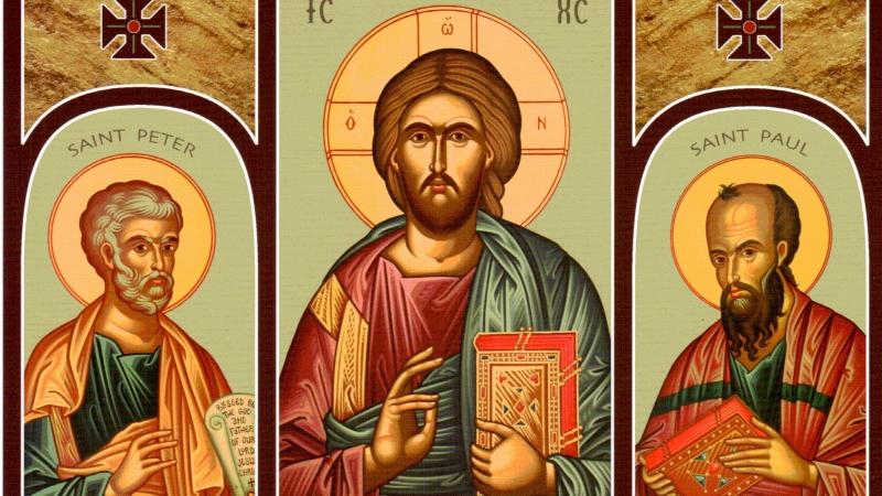 Solennité des saints apôtres Pierre et Paul (29 juin)  dans fêtes religieuses