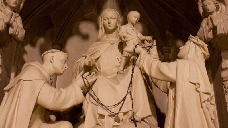 Feliz fiesta de Nuestra Señora del Santo Rosario - 7 de octubre -  FSSPX.Actualités / FSSPX.News